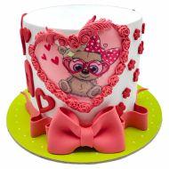کیک خرس تدی
