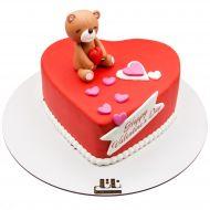 کیک خرس مهربان