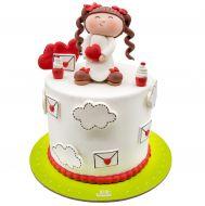 کیک دخترک عاشق