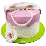 کیک مروارید آویز