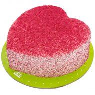 کیک قلب رد