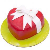 کیک قلب کادوئی