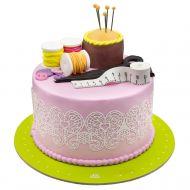 کیک جعبه خیاطی