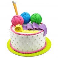 کیک میل بافتنی