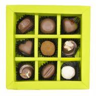 شکلات فیگور مغزدار 9 عددی