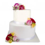کیک گل عروس