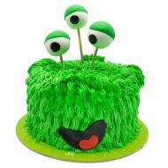 کیک هیولا ی سبز