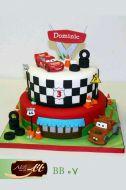 کیک تولد پسرانه مک کوئین 3