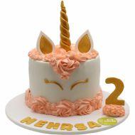 کیک تولد دخترانه اسب تک شاخ 2