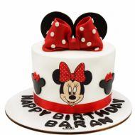 کیک تولد دخترانه میکی موس 10