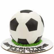 کیک توپ فوتبال
