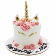 کیک تولد دخترانه اسب تک شاخ 4