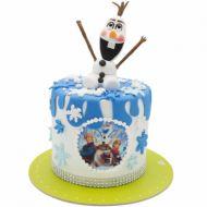 کیک آدم برفی فروزن