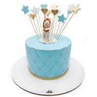 کیک جشن تکلیف دخترانه