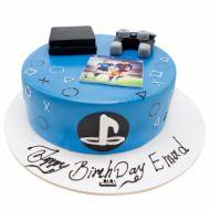 کیک تولد پسرانه پی اس فور