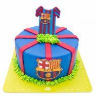کیک تولد بارسلونا