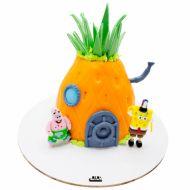 کیک تولد باب اسفنجی و پاتریک در شهر بیکینی باتم