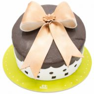 کیک تولد پاپیون طلایی
