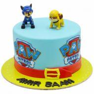 کیک تولد پاو پاترول