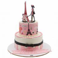 کیک تولد ایفل