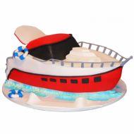 کیک قایق مسافرتی
