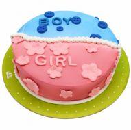 کیک تعیین  جنسیت فانتزی