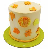 کیک برگ پاییزی