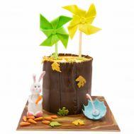 کیک پاییز و فرفره