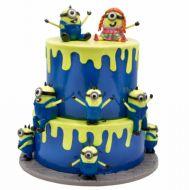 کیک مینیون های شیطون
