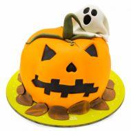 کیک هالووین کدوی وحشت