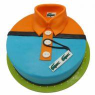 کیک پیراهن مردانه لاکست نارنجی