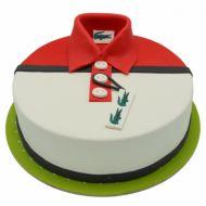 کیک پیراهن مردانه لاکست قرمز