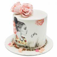 کیک دختر صحرا