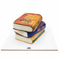 کیک کتاب و دیوان حافظ