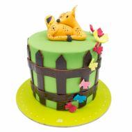 کیک آهو کوچولو