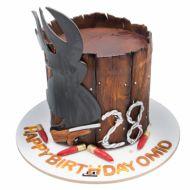 کیک شکار