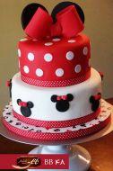 کیک تولد دخترانه میکی موس 2