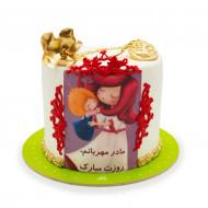 کیک مادر مهربونم