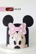 کیک تولد دخترانه میکی موس 3