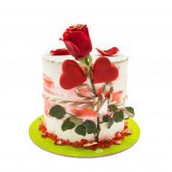 کیک گل روز مادر