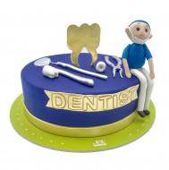 کیک دندان پزشک
