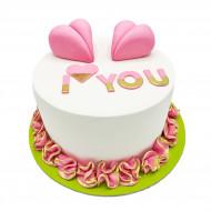 کیک آی لاو یو