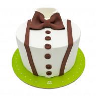 کیک پیراهن با پاپیون