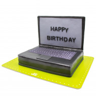 کیک لپ تاپ مشکی