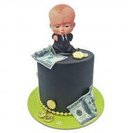 کیک بچه رئیس پولدار