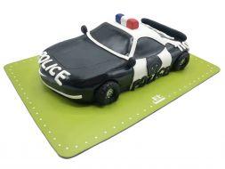 کیک تولد ماشین پلیس