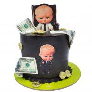 کیک میز کار بچه رئیس