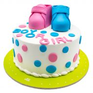 کیک تعیین جنسیت نوزاد