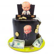 کیک با تم بچه رئیس