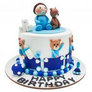 کیک نوزاد و خرسی